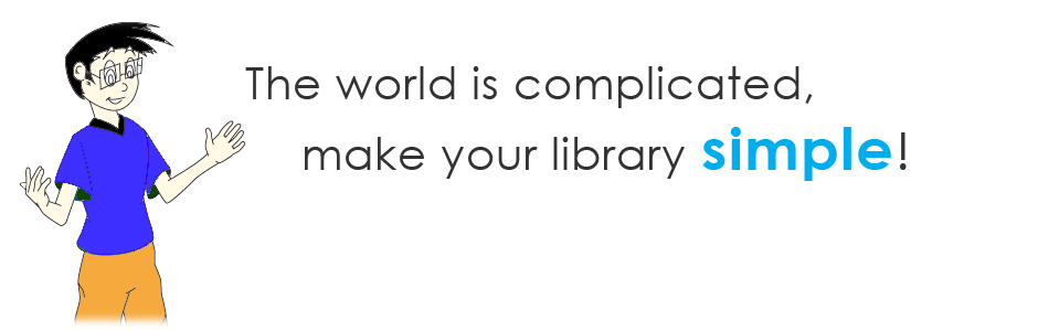 The world is complicated, make your library Simple!